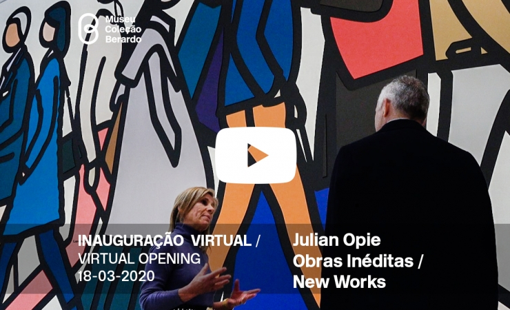 Inauguração Virtual - Replay: Julian Opie, Obras Inéditas / New Works