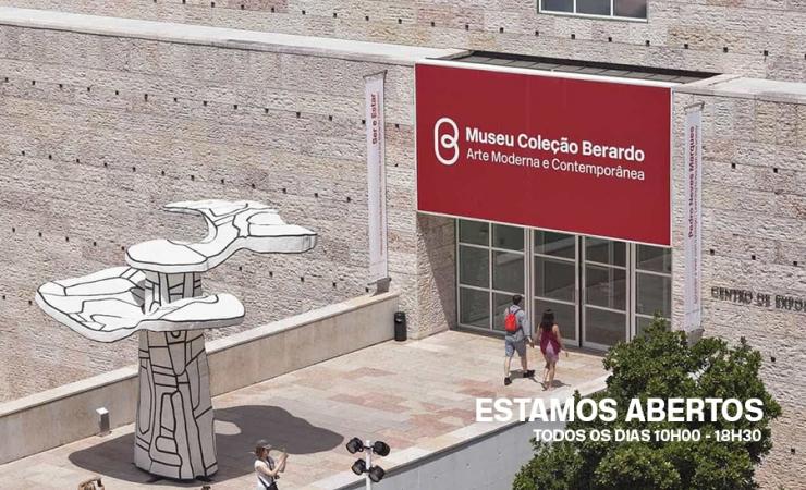 Museu Berardo - Estamos Abertos | Museu de Arte Moderna e Contemporânea Aberto em Lisboa