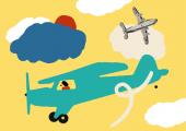 Os aviões que não são de papel
