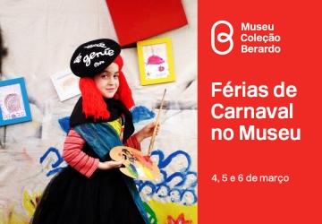 Férias de Carnaval no Museu Berado, atividades para crianças dos 4 aos 12 anos, Lisboa