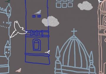 Julian Opie – Da cidade para o meu quarto   Atividades para famílias em casa, 3º ciclo   #MCB_OnlineKids
